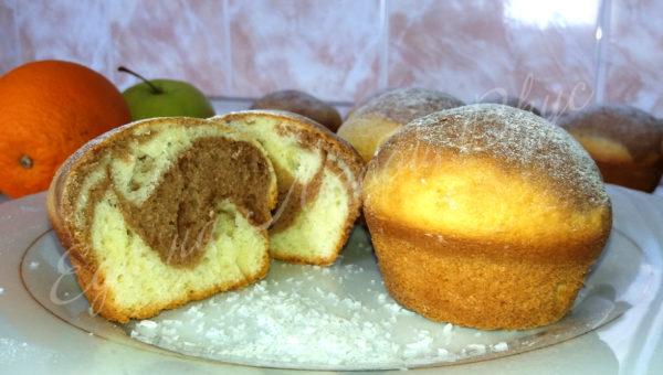 рецепт кексов для формочек в духовке