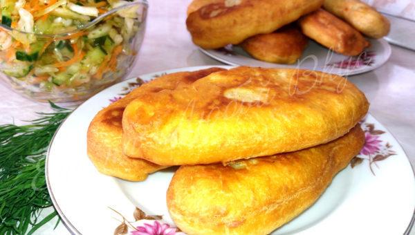 вкусное тесто на пирожки с картошкой