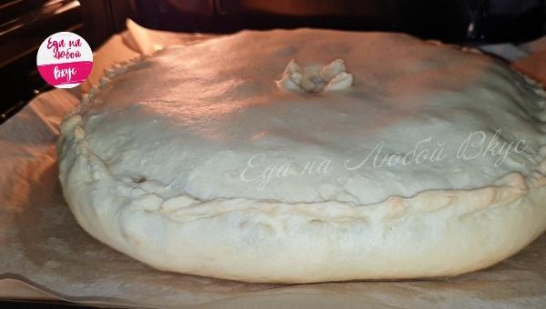 Мясной пирог Символ года - рецепт пошаговый с фото