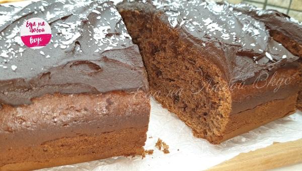 Шоколадный пирог на молоке рецепт с фото пошагово